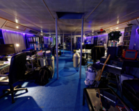 professionelles Tonstudio in historischer Motoryacht(Video)(TB) 5
