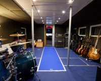 professionelles Tonstudio in historischer Motoryacht(Video)(TB) 6