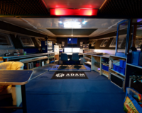 professionelles Tonstudio in historischer Motoryacht(Video)(TB) 8