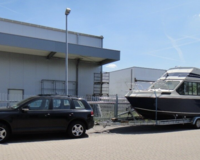 Reinell Flybridge Motorboot mit Trailer(TK) 4