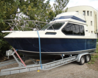 Reinell Flybridge Motorboot mit Trailer(TK) 3