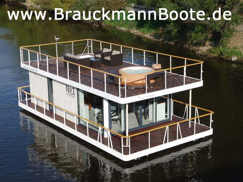 no1 houseboat 40 brauckmannboote gmbh. Black Bedroom Furniture Sets. Home Design Ideas
