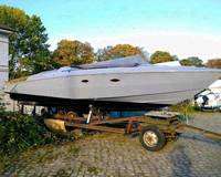 Wellcraft Scarab Super Sport 34  inkl. Hafentrailer (MM) 1