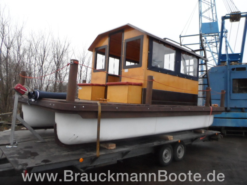 mini hausboot flisak 6 brauckmannboote gmbh. Black Bedroom Furniture Sets. Home Design Ideas
